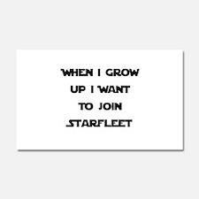 Join Starfleet Car Magnet 20 x 12
