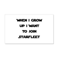 Join Starfleet 22x14 Wall Peel