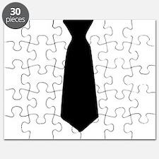 Black Neck Tie Puzzle