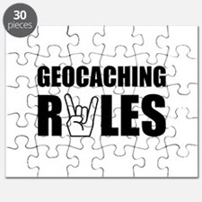 Geocaching Rules Puzzle