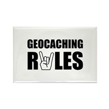 Geocaching Rules Rectangle Magnet (10 pack)