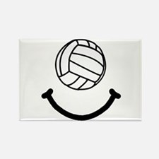 Volleyball Smile Rectangle Magnet (10 pack)