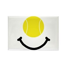 Tennis Smile Rectangle Magnet (10 pack)