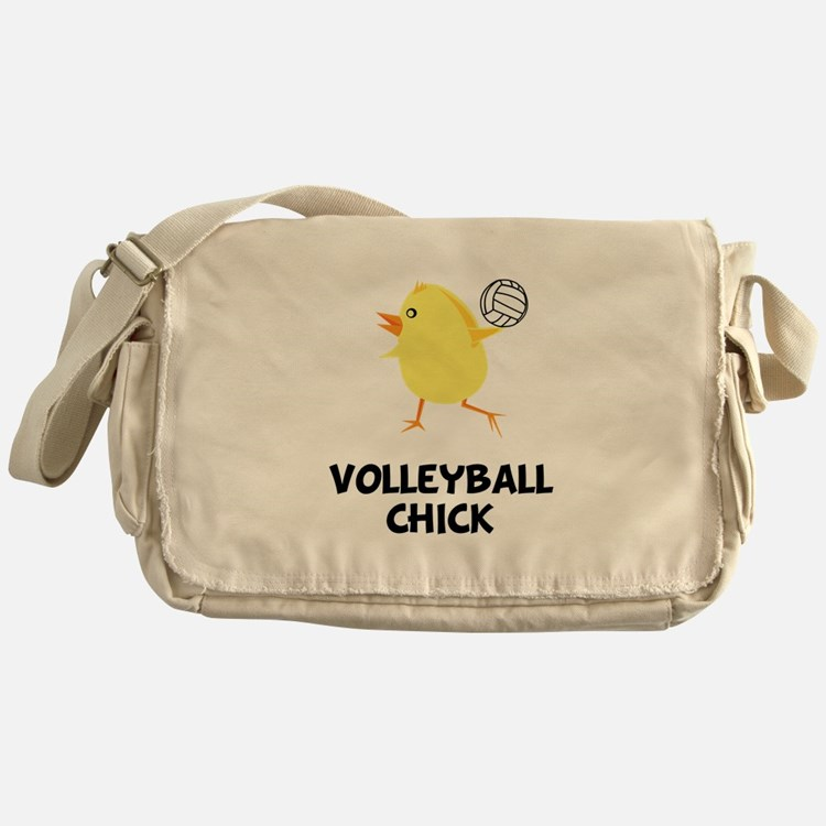 Volleyball Chick Messenger Bag
