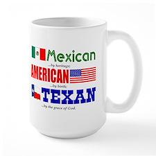 Coffee Mug- Heritage - Mexican/American/Texan