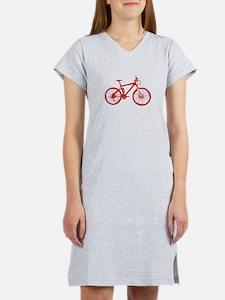 Red Mountain Bike Women's Nightshirt