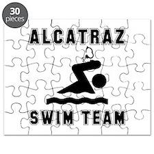 Alcatraz Swim Team Puzzle