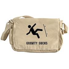 Skateboard Gravity Messenger Bag