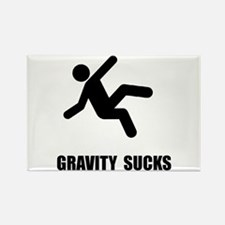 Gravity Sucks Rectangle Magnet (10 pack)