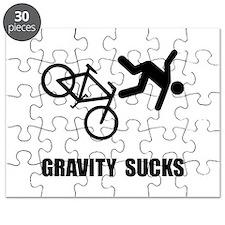 Gravity Sucks Bike Puzzle