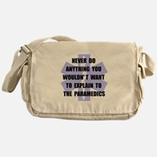 Paramedics Messenger Bag