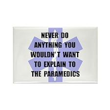 Paramedics Rectangle Magnet (10 pack)