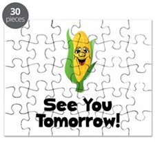 See You Tomorrow Corn Puzzle