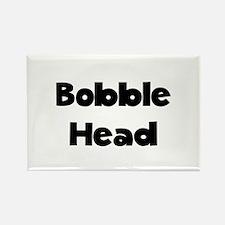 Bobble Head Rectangle Magnet (10 pack)