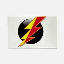 Flash Bolt Rectangle Magnet (10 pack)