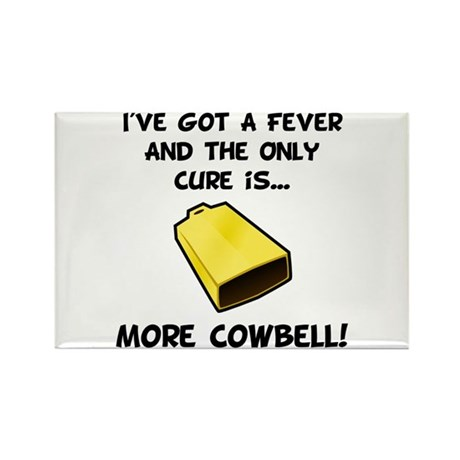 More Cowbell Fever Rectangle Magnet (100 pack)