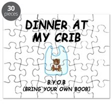 Dinner At My Crib Boob Puzzle