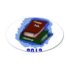 Chapter Book Challenge 2012 22x14 Oval Wall Peel