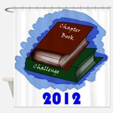Chapter Book Challenge 2012 Shower Curtain