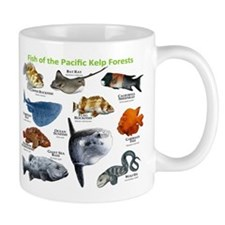 Fish of the Kelp Forests of the Pacific Ocean Mug