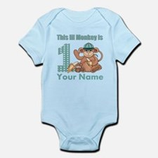 First Birthday Monkey Infant Bodysuit