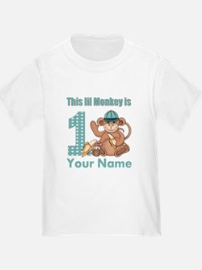 First Birthday Monkey T