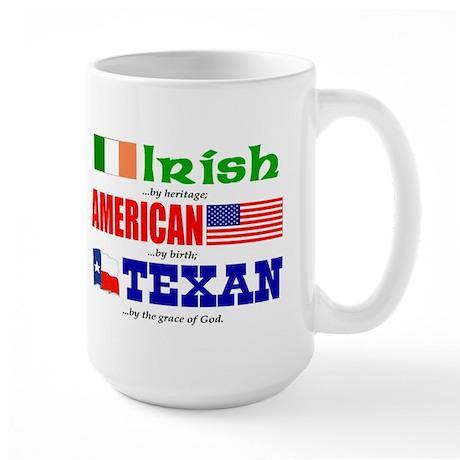 Large Mug - Heritage - Irish/American/Texan