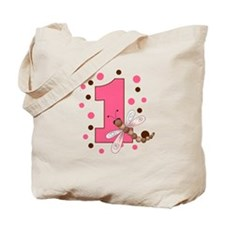 First Birthday Dragonfly Tote Bag