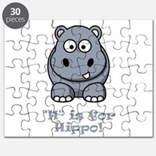 H is for Hippo! Puzzle