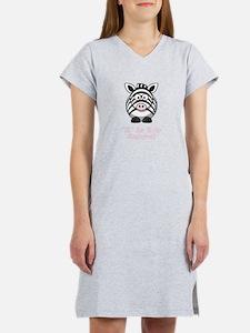Z is for Zebra! Women's Nightshirt
