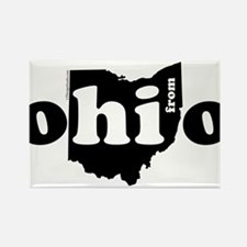 Hi From Ohio Magnets