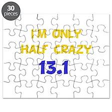 Half Crazy 13.1 Puzzle