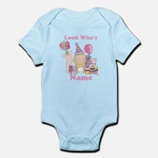 First Birthday Baby Girl Infant Bodysuit