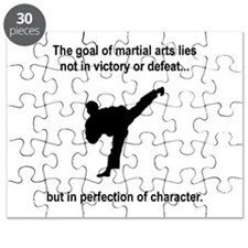 Martial Art Character Puzzle