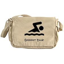 Swimmer Dude Messenger Bag