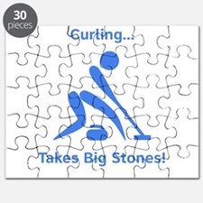 Curling Takes Big Stones! Puzzle