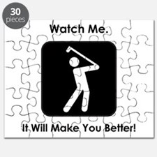 Watch Me. Golf. Puzzle