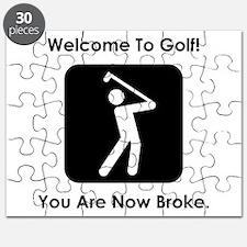 Golf Broke. Puzzle