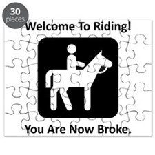 Welcome To Riding! Puzzle