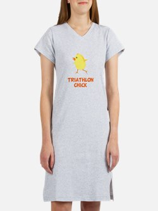 Triathlon Chick Women's Nightshirt