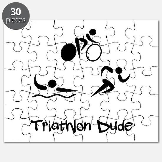 Triathlon Dude Puzzle
