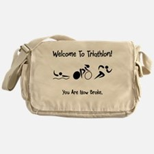 Welcome To Triathlon! Messenger Bag