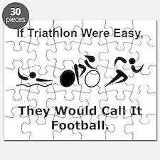 Traithlon Football Puzzle