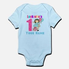 First Birthday Girl Infant Bodysuit