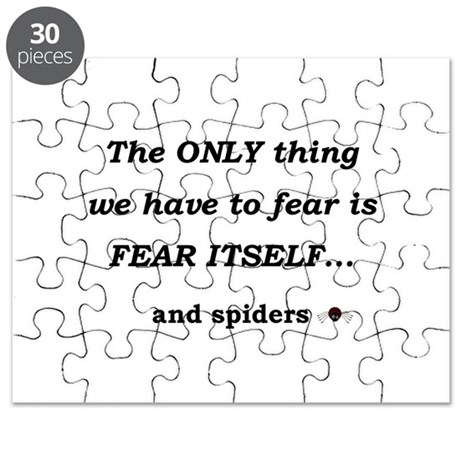 Fear Spiders Puzzle