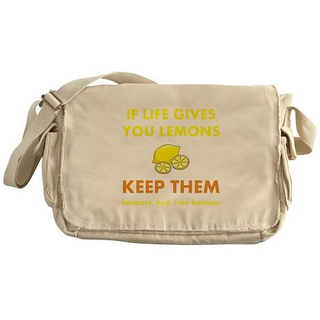Life Gives You Lemons Messenger Bag