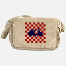 Mod Scooter Messenger Bag