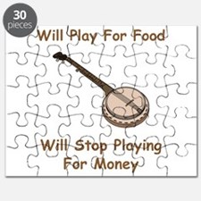 Banjo Stop Playing For Money Puzzle
