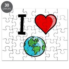 I Heart Earth Puzzle