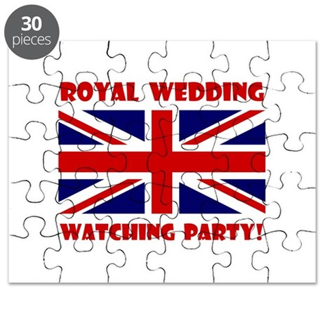 Royal Wedding Watching Party! Puzzle